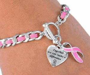 Breast cancer awareness jewelry